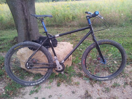 Surly Trolloff mountain bike with a Rohloff and S&S couplers